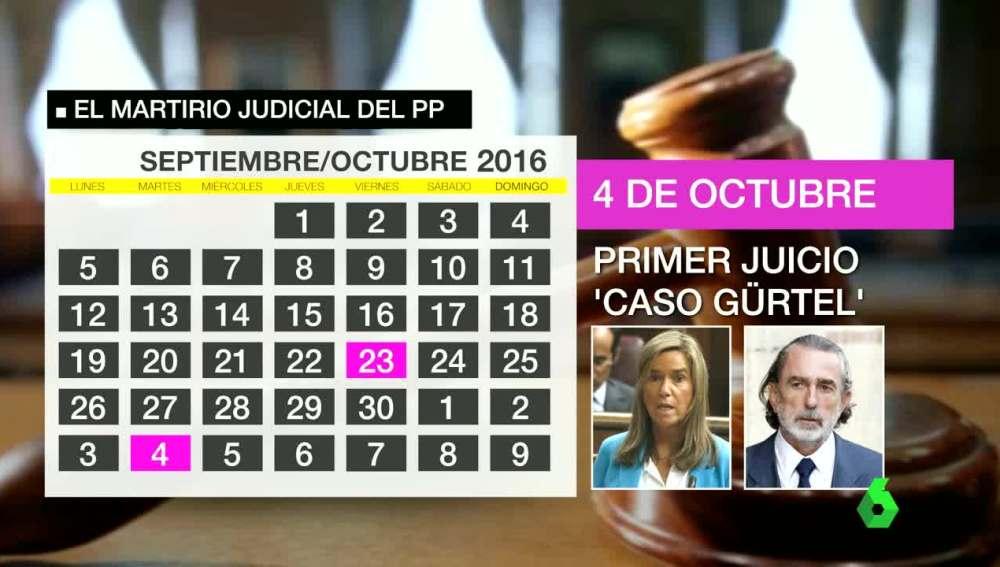 Calendario Judicial
