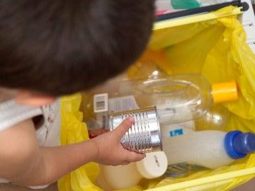 Reciclaje de envases en casa