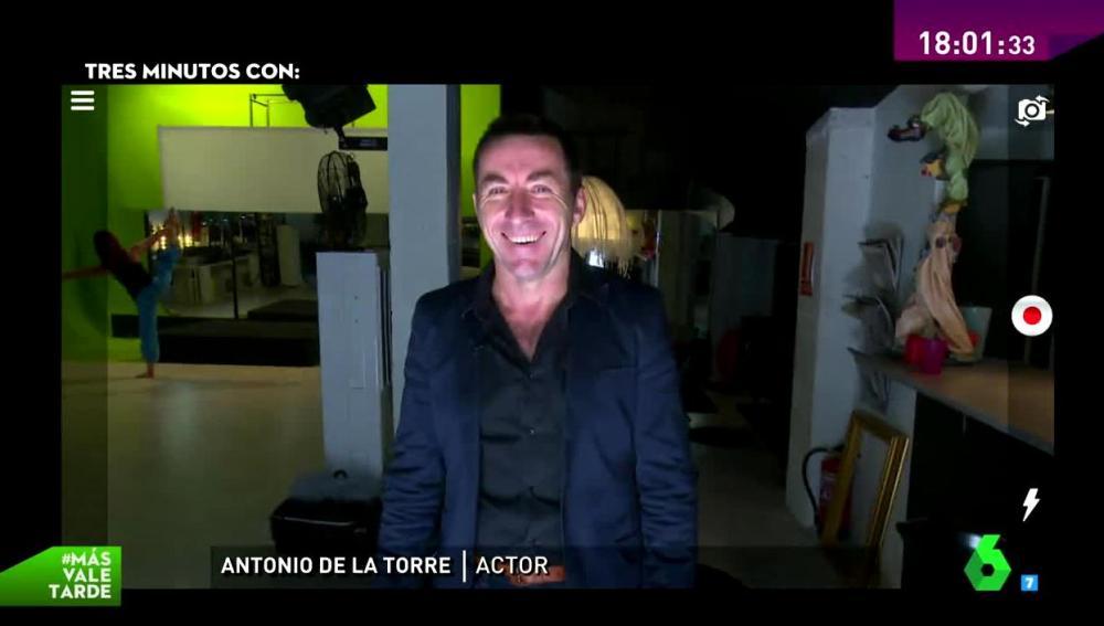 El actor Antonio de la Torre