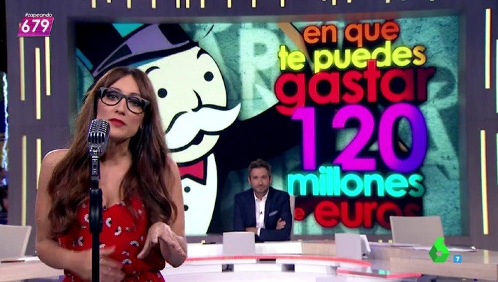 """Frame 326.242294 de: Ana Morgade sobre el fichaje de Pogba: """"120 millones de euros por una persona, ¿qué es de platino por dentro?"""