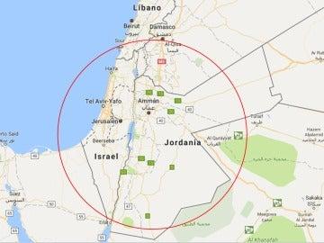 Palestina en Google Maps