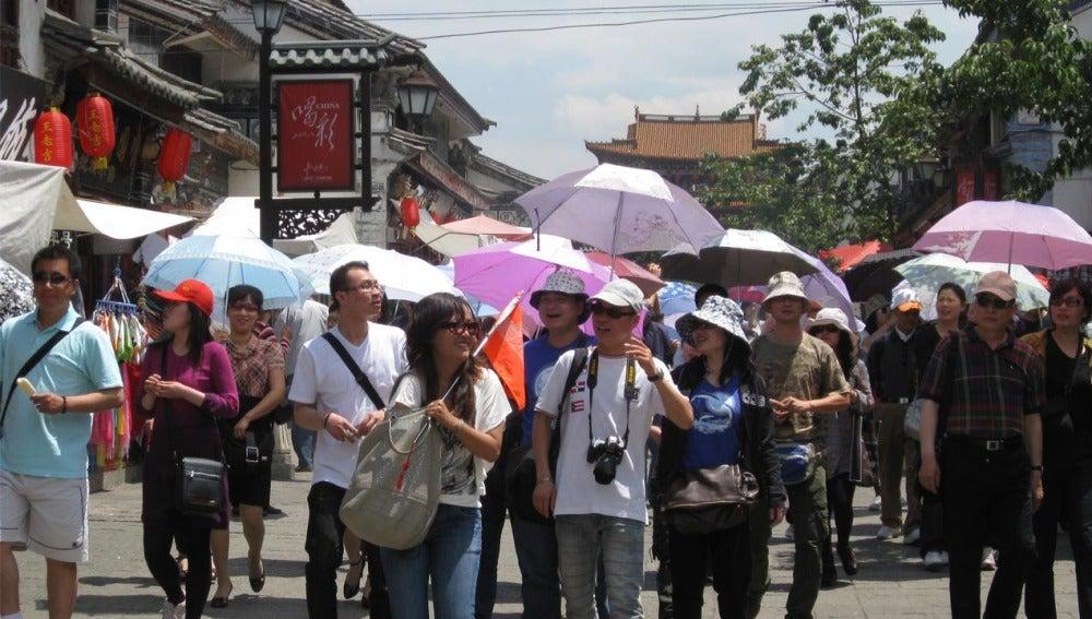 Resultado de imagen para fotos de turistas chinos