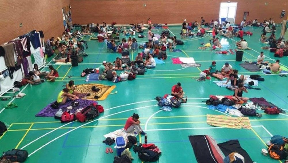Desalojados del camping de Medusa Festival