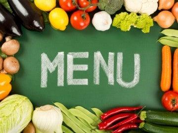 El menú de una dieta vegana