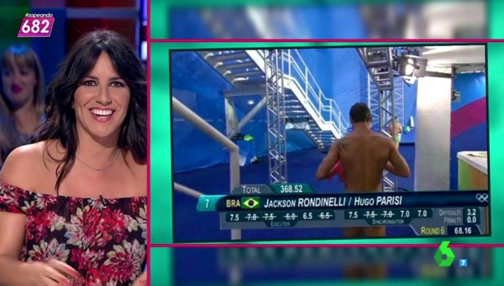 Irene Junquera Sobre Los Falsos Desnudos En Los Juegos Olímpicos Esto Es Lo Que Se Llama Competir En Estilo Libre Lo De Abajo Lo Lleva Al Aire
