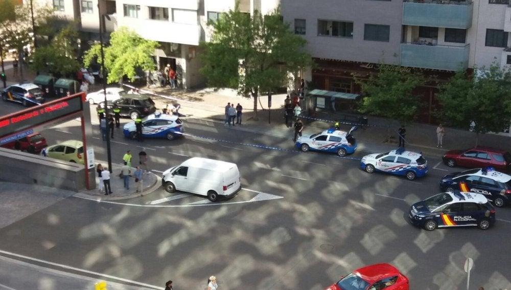 Heridas dos personas de gravedad tras ser tiroteadas por un hombre en un centro comercial de Zaragoza