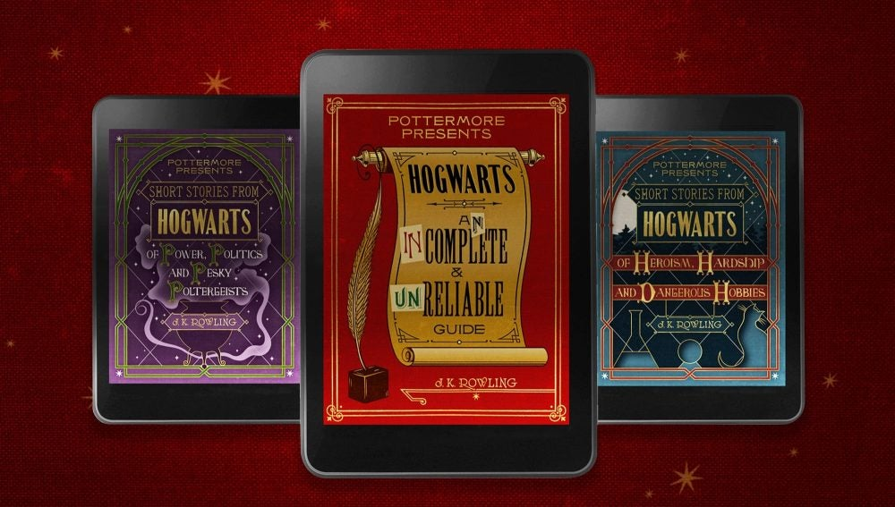 Los tres nuevos libros de Harry Potter en formato ebook