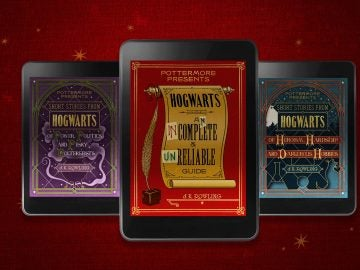 Los tres nuevos libros de Harry Potter en formato ebook