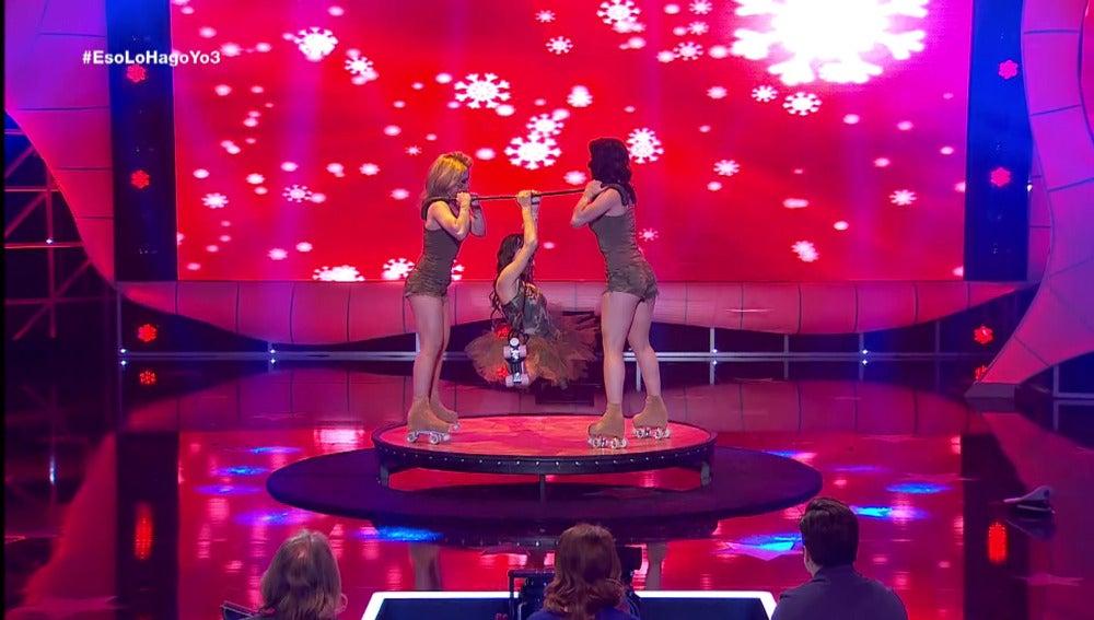 Actuación de Daniela
