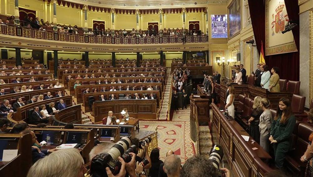 Sesión constitutiva del Congreso de los Diputados