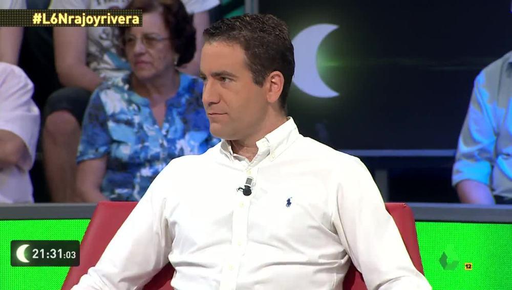 Teodoro García, en laSexta Noche