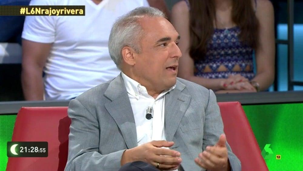 """Frame 10.854491 de: Rafael Simancas: """"No vamos a votar al candidato de los contratos basura, de la ley mordaza, de las reválidas…"""""""