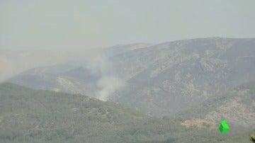 Frame 7.201428 de: La Junta pide colaboración ciudadana para dar con el autor del incendio del Valle del Jerte