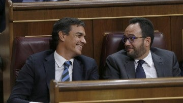 Antonio Hernando, portavoz del PSOE en el Congreso