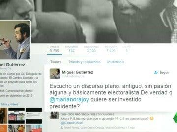 Frame 49.15254 de: Las redes sociales, un 'segundo' hemiciclo que ha servido de hervidero de opiniones sobre el discurso de Rajoy
