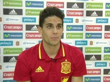 Marc Bartra, jugador de la Selección española