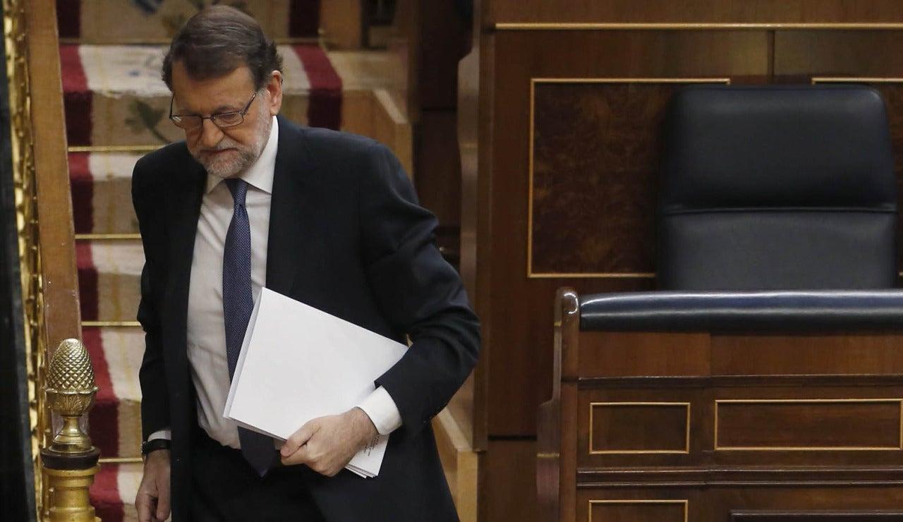 Mariano Rajoy en el Congeso
