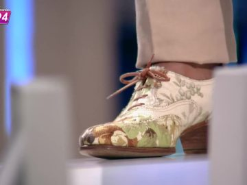 Los zapatos tapizados de Josie