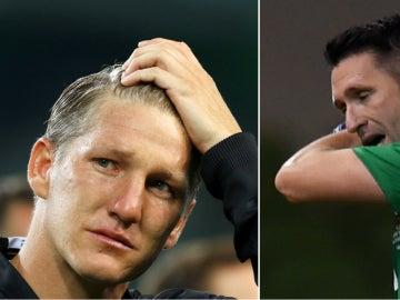 Robbie Keane y Schweinsteiger se despiden de sus selecciones