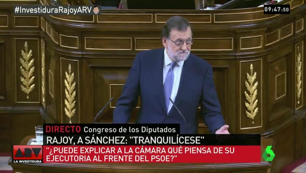 Rajoy en la investidura