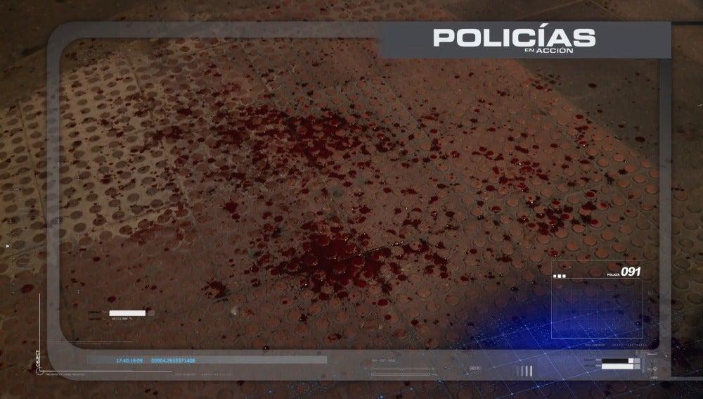 Frame 48.304613 de: No para de sangrar le quería matar, este jueves en Policías en Acción