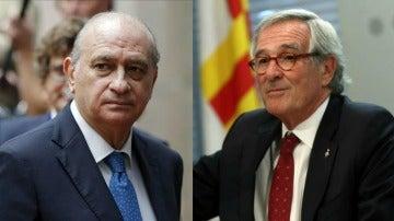 Jorge Fernández Díaz y Xavier Trias