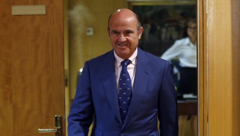 Luis de Guindos, ministro de Economía en funciones