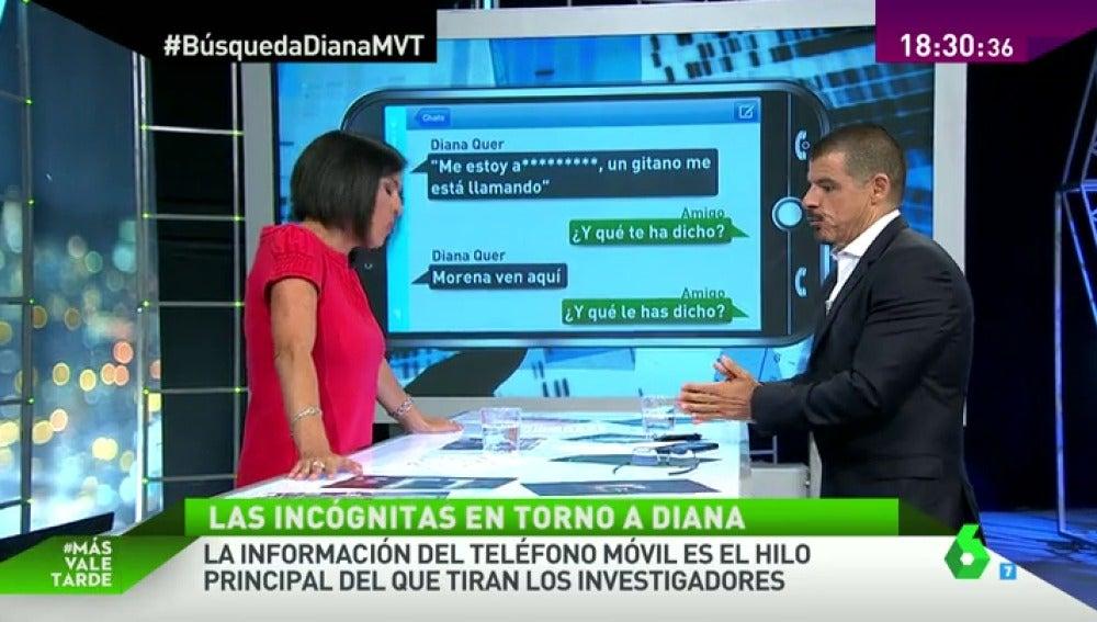 Frame 51.740464 de: El móvil, la principal línea de investigación en la desaparición de Diana Quer