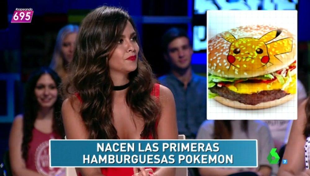 Frame 19.227927 de: El zapcheck de Cristina Pedroche:¿existen las 'Poke burguers'?