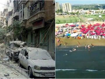 Las dos caras de Siria