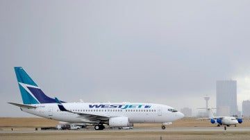 Un avión de WestJet