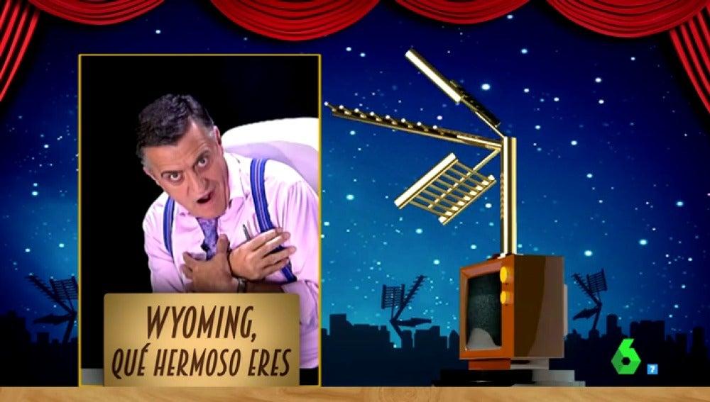 Frame 35.549302 de: 'Wyoming qué hermoso eres' ganador del premio Zapeando a mejor comunicador nacional