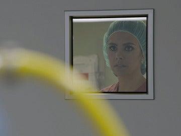 Cristina Pedroche, en el hospital La Paz