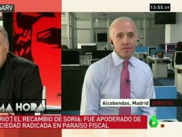 """Inda: """"Es una nueva chapuza. Soria, De Guindos y Latorre son íntimos, van hasta el final aunque salten las alarmas"""""""