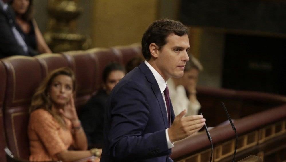 Albert Rivera, en el Congreso
