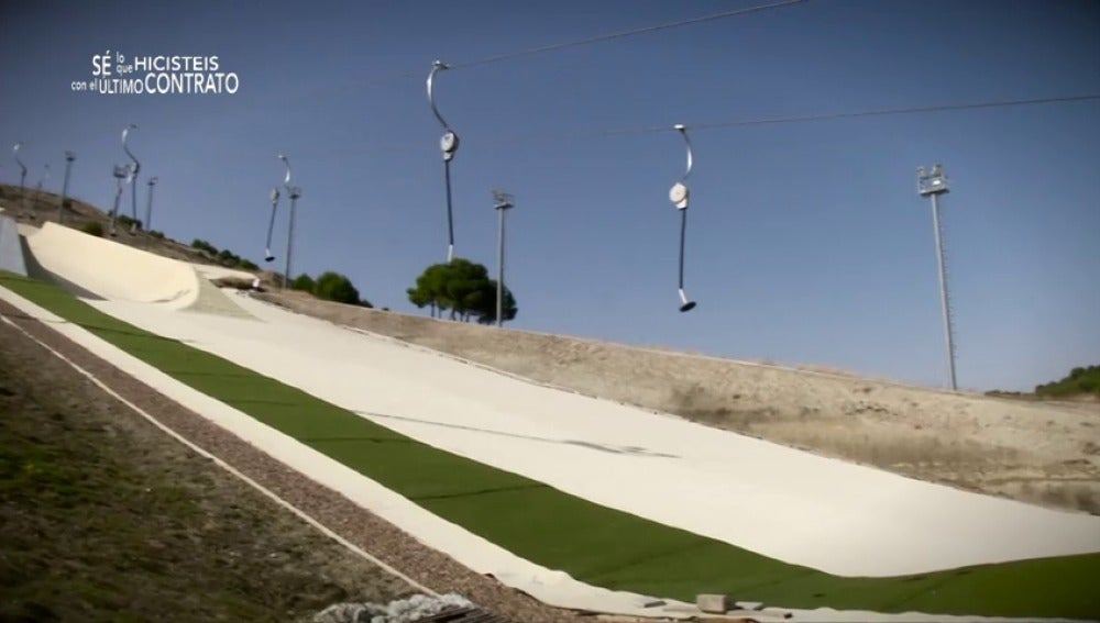Frame 45.035802 de: 'Meseta ski', 12 millones destinados a un proyecto incabado para esquiar en Valladolid