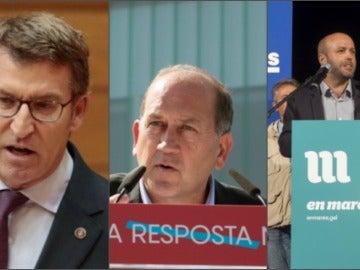 Las caravanas electorales del PPdeG, PSdeG y En Marea,canceladas tras el accidente de tren