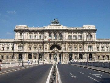 Fachada del Tribunal Supremo de Italia