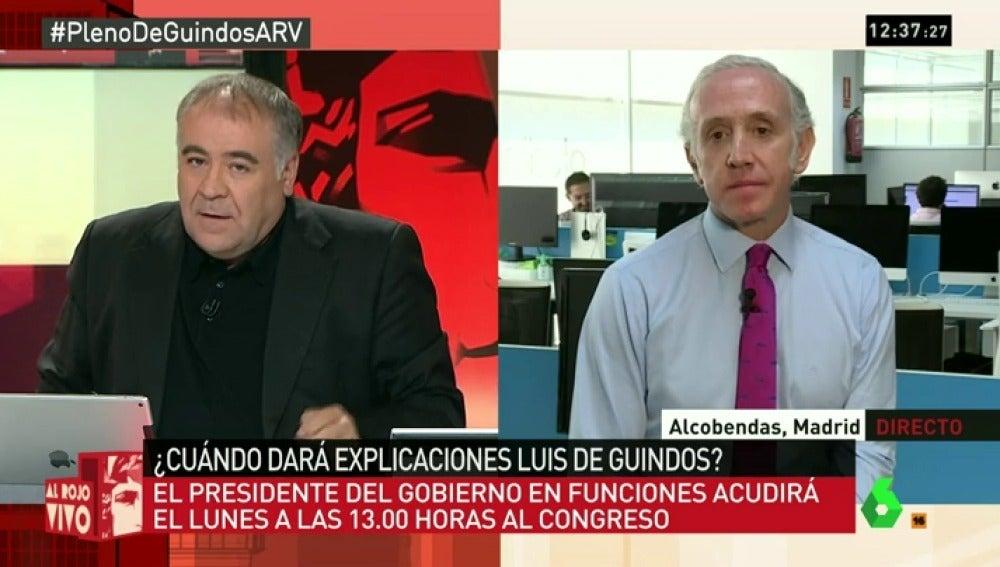 "Eduardo Inda: ""Jiménez laTorre, como secretario de Estado, adjudicó a dedo diez millones a su antigua empresa"""
