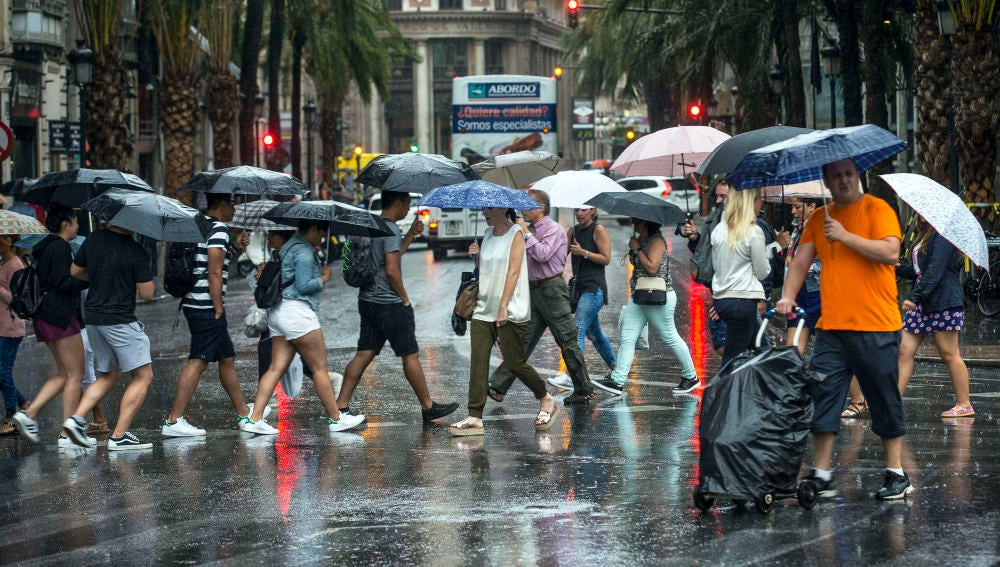Las lluvias y las malas temperaturas llegan a la Península.