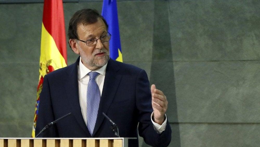 Rajoy ante los medios