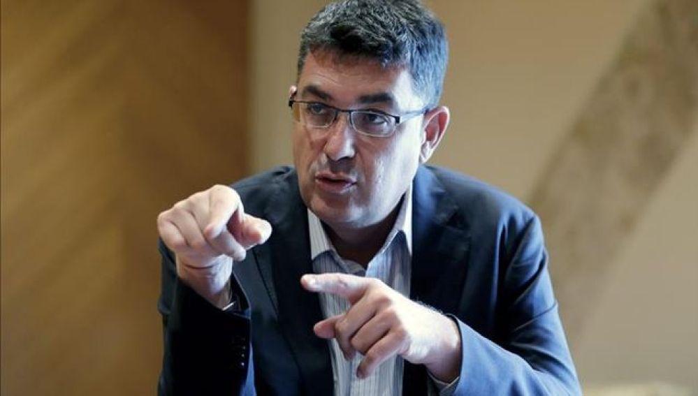El presidente de Les Corts Valencianes, Enric Morera