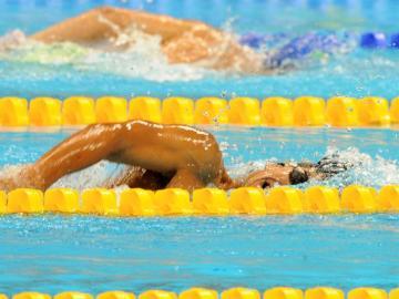 El nadador Israel Oliver