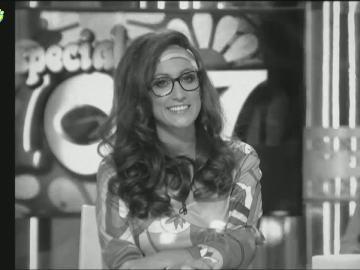 Ana Morgade, en el especial de los años 70 de Zapeando
