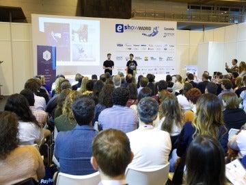 Una de las ponencias del eShow en Madrid