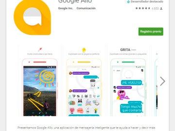 Imagen de Allo, la nueva aplicación de Google