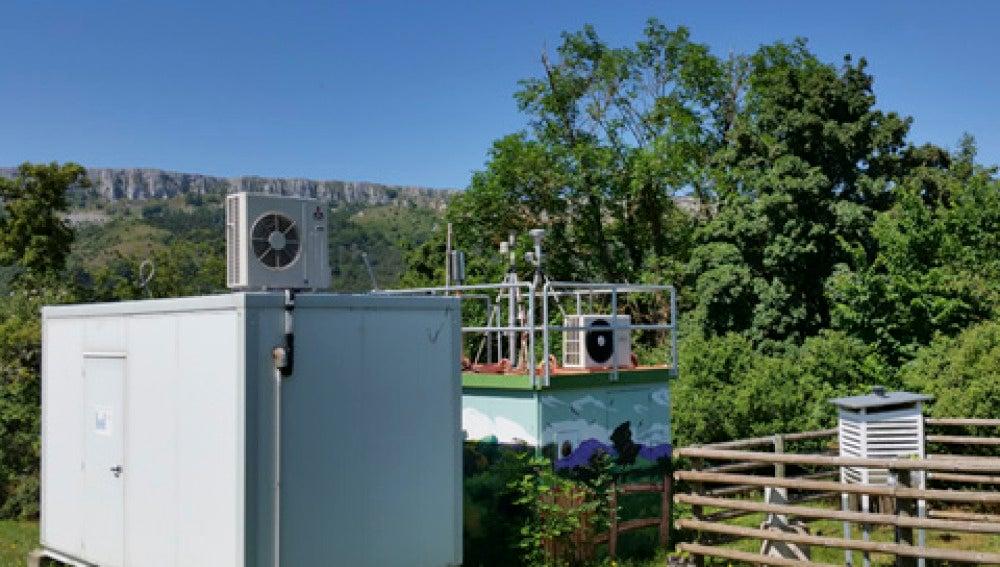 Imagen de la estación de medición de Val
