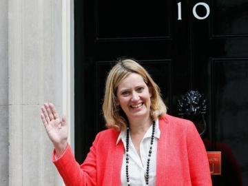 Amber Rudd, ministra de Interior de Reino Unido
