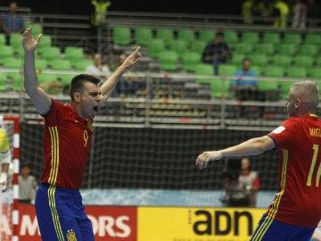 España pasa a cuartos de final del Mudial de futsala