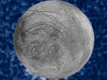 Confirman penachos de vapor de agua en la luna Europa de Júpiter